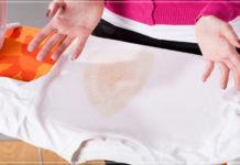 Cách tẩy vết ố vàng trên áo