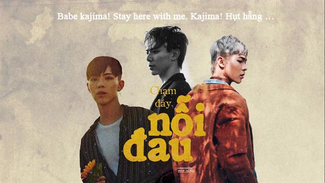 """Kajima từ tiếng Hàn trong bài hát """"Chạm đáy nỗi đau"""""""
