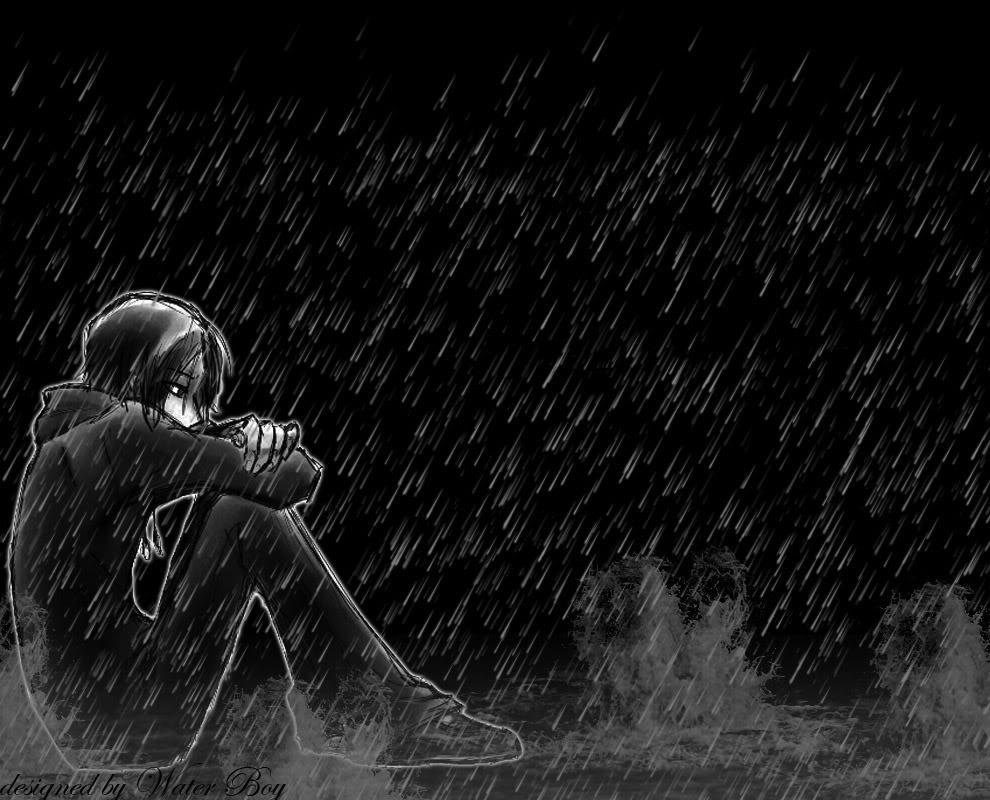 hình ảnh anime boy buồn, cô đơn 17
