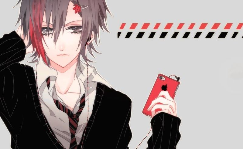 hình ảnh anime boy buồn, cô đơn 19