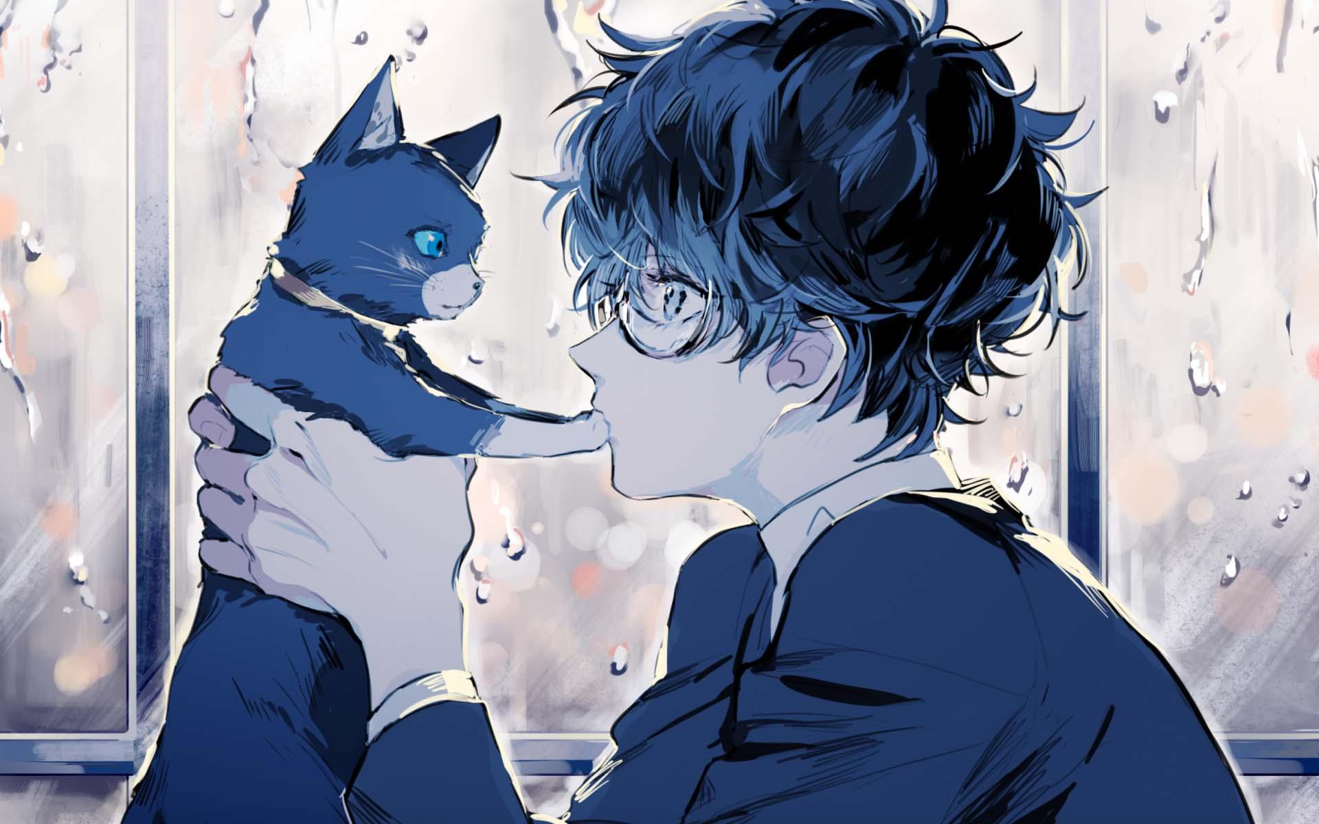 hình ảnh anime boy buồn, cô đơn 21