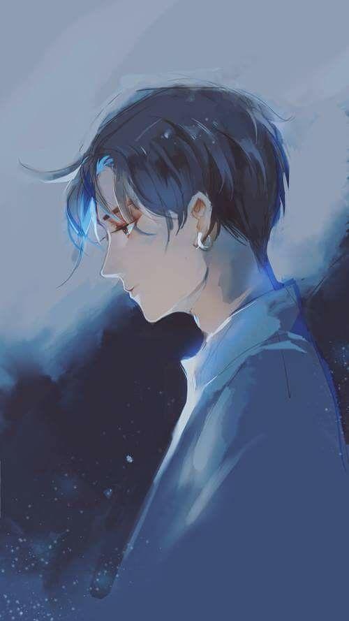 hình ảnh anime boy buồn, cô đơn 30