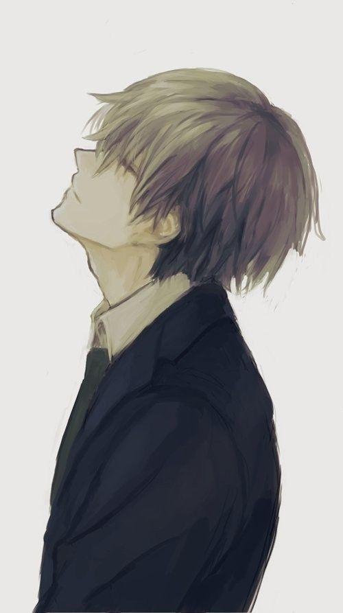 hình ảnh anime boy buồn, cô đơn 32