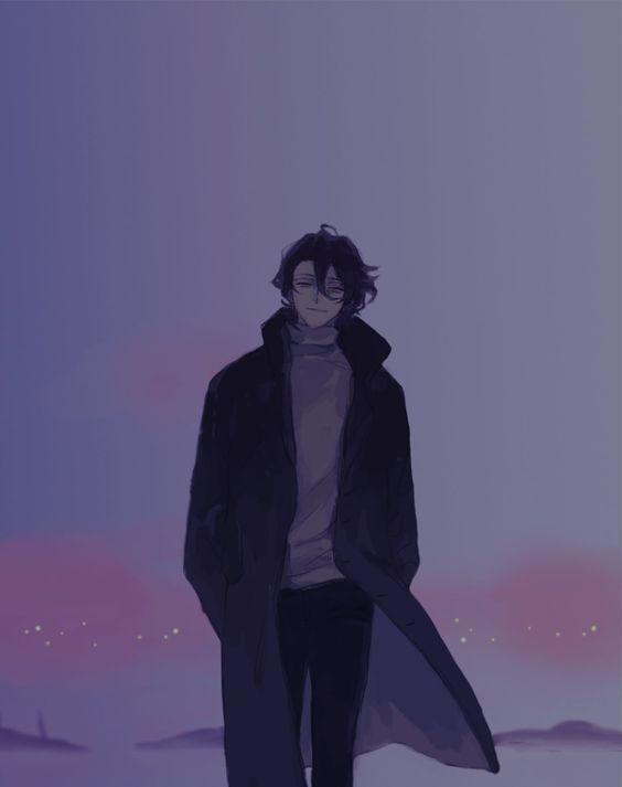 hình ảnh anime boy buồn, cô đơn 35