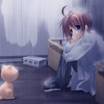 hình ảnh anime boy buồn, cô đơn 41