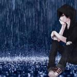 hình ảnh anime boy buồn, cô đơn 45