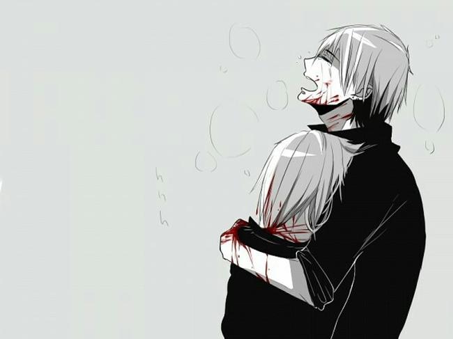 hình ảnh anime boy buồn, cô đơn 46