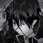 hình ảnh anime boy buồn, cô đơn 07