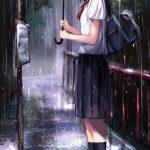 Hình ảnh anime Girl buồn 01