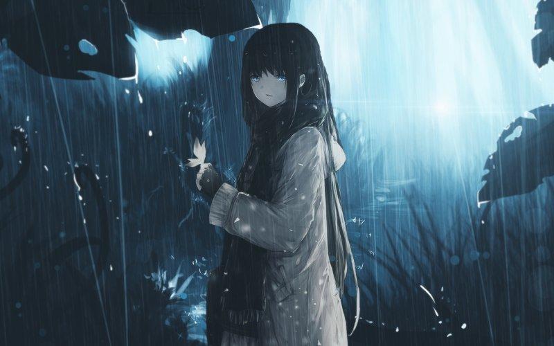 Hình ảnh anime Girl buồn 12