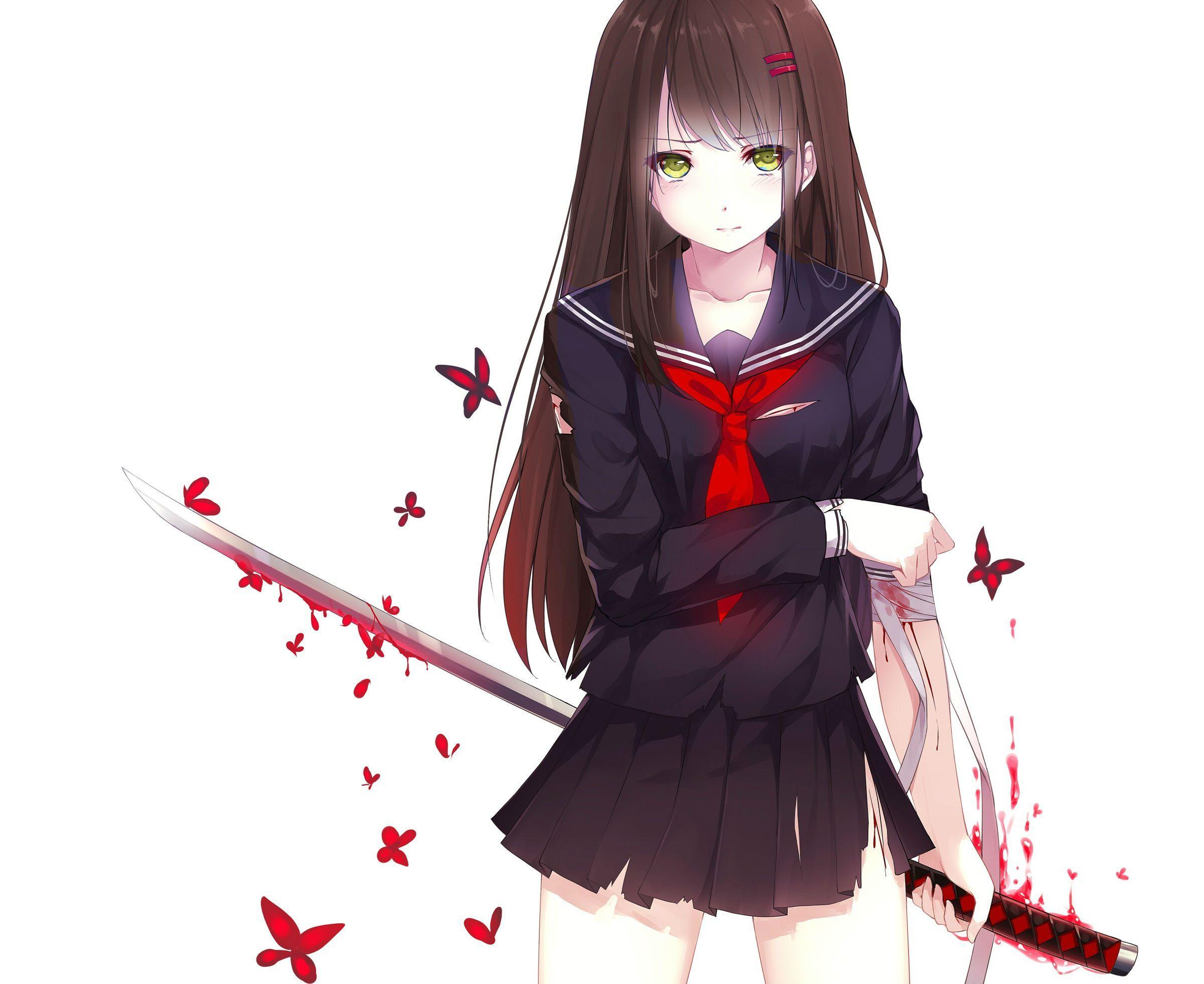 Hình ảnh anime Girl buồn 21