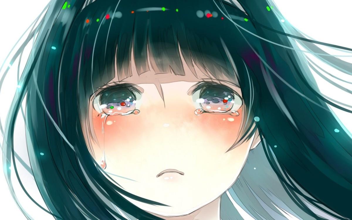 Hình ảnh anime Girl buồn 27