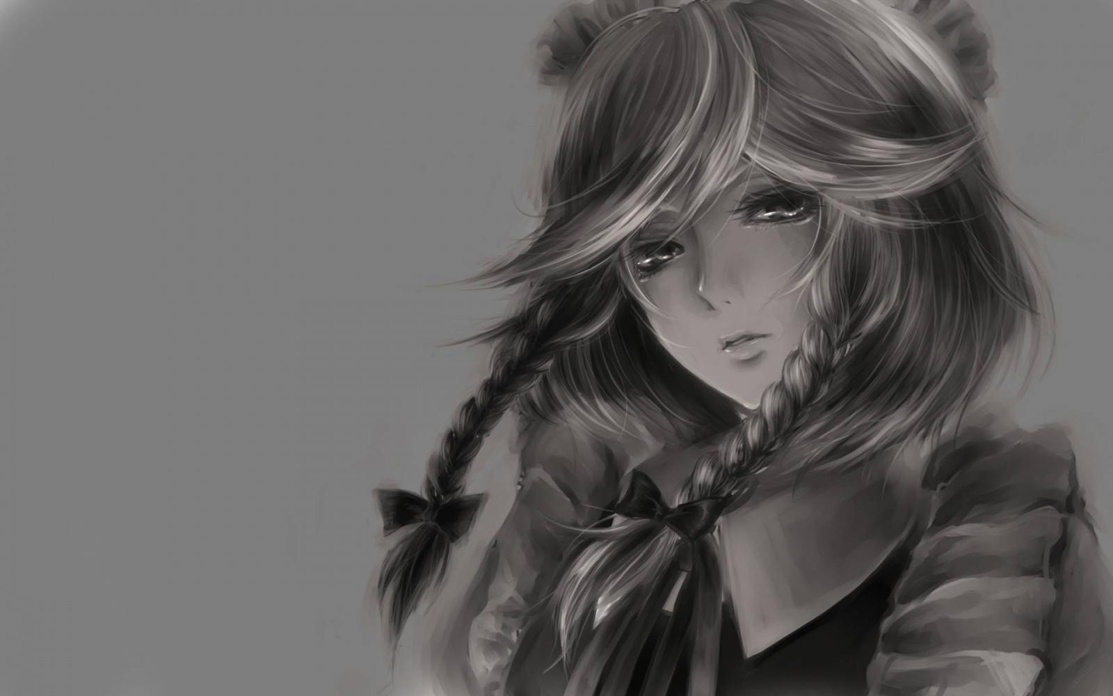 Hình ảnh anime Girl buồn 30