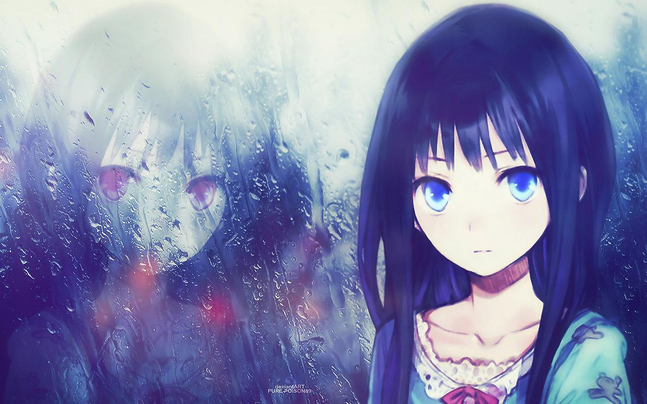 Hình ảnh anime Girl buồn 40
