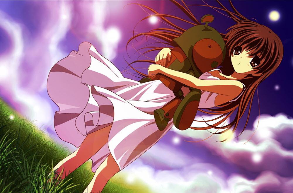 Hình ảnh anime Girl buồn 41