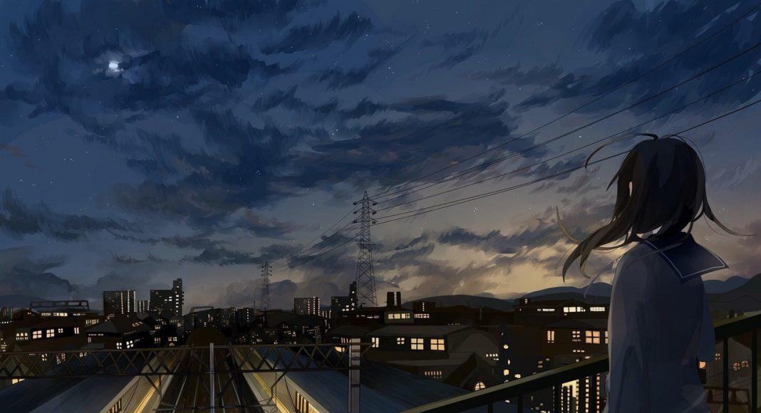 Hình ảnh anime Girl buồn 44
