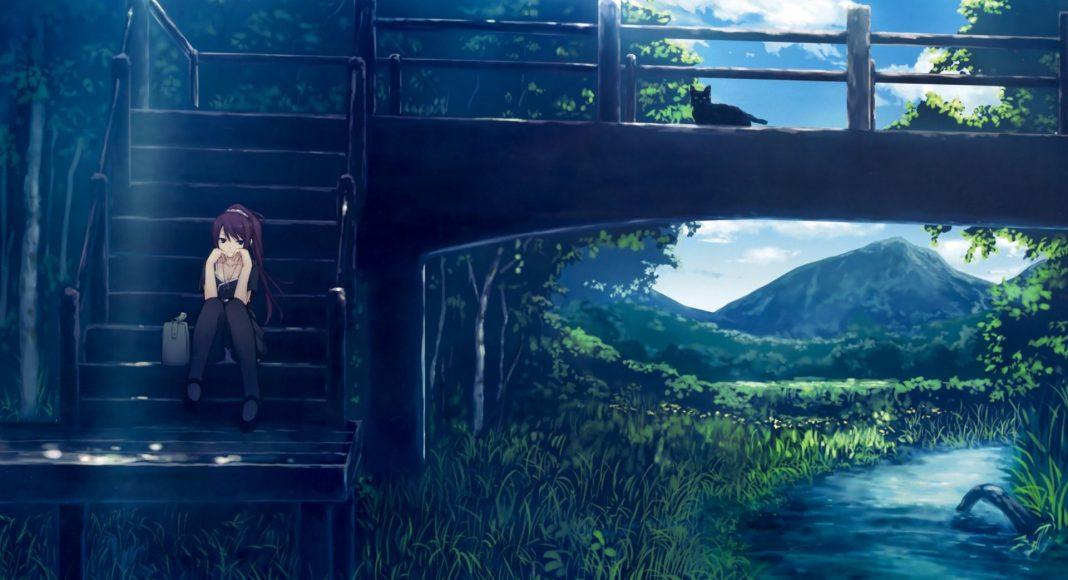 Hình ảnh anime Girl buồn 45