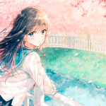 Hình ảnh anime Girl buồn 48