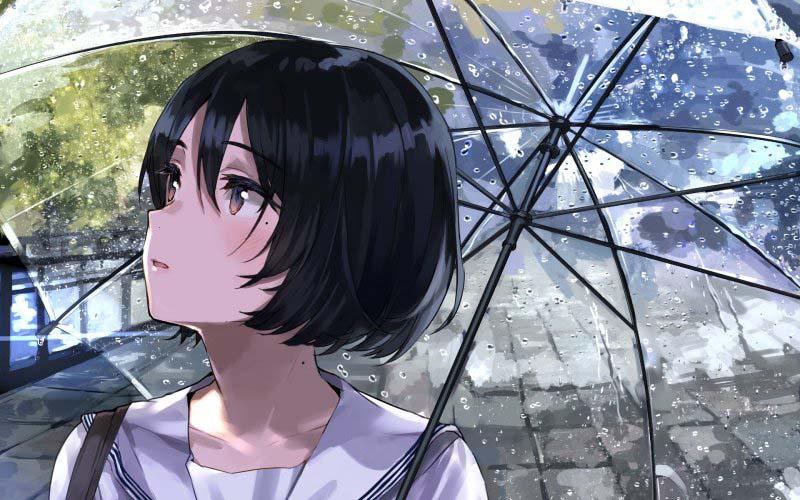 Hình ảnh anime Girl buồn 06