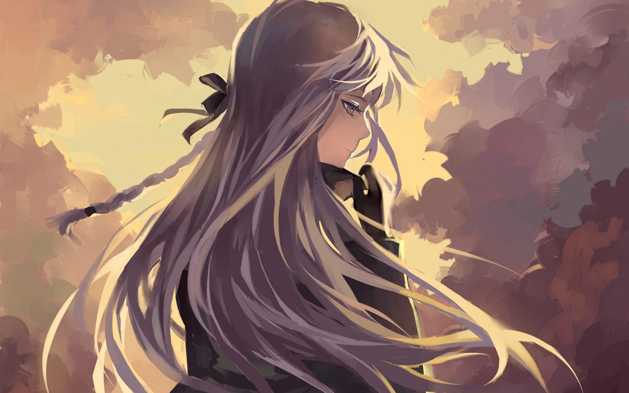 Hình ảnh anime Girl buồn 07