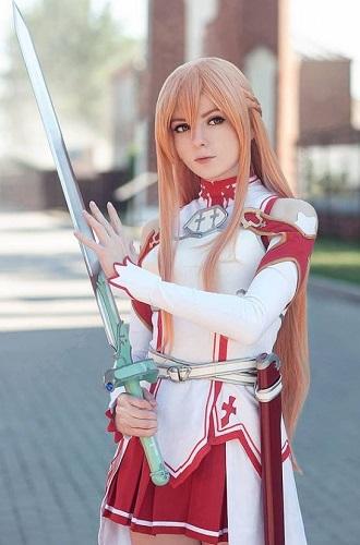 cosplay Asuna Yuuki (Sword Art Online)