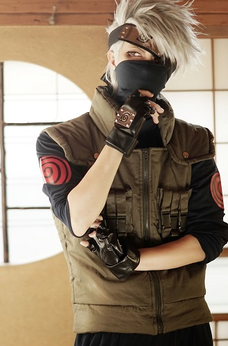 cosplay Kakashi Hatake (Naruto)