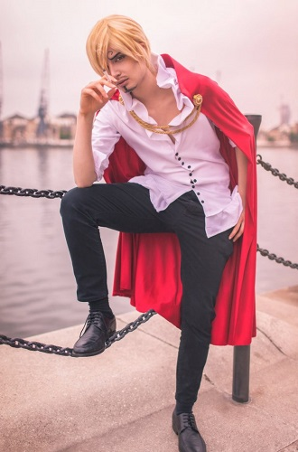cosplay Vinsmoke Sanji (One Piece)