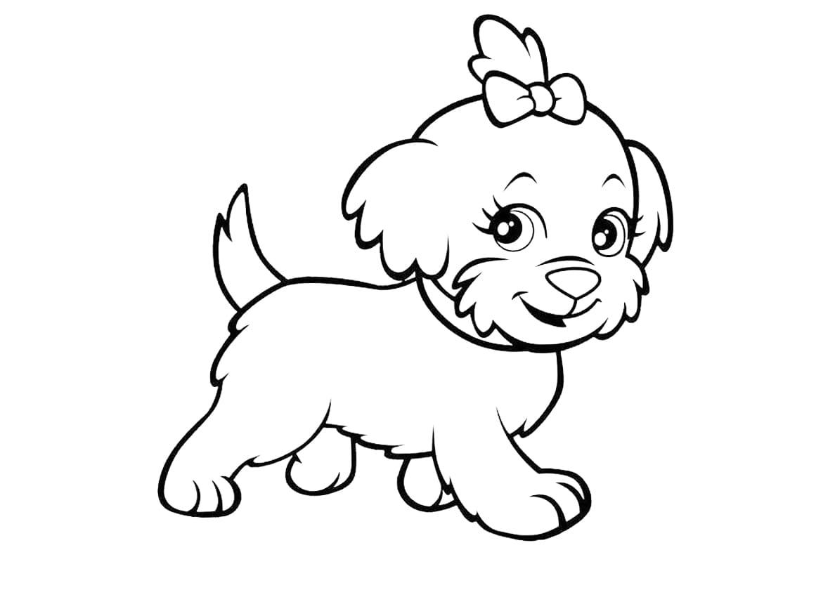 tranh tô màu cho bé 3 tuổi - hình ảnh động vật dễ thương