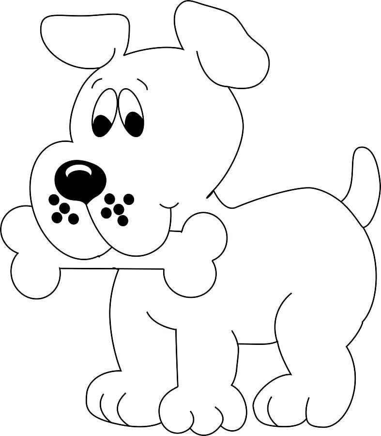tranh tô màu cho bé 3 tuổi - tranh tô màu động vật dễ thương