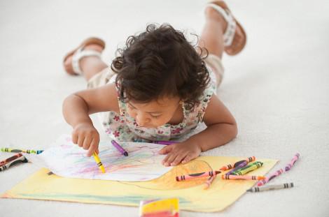 tranh tô màu cho bé tập tô