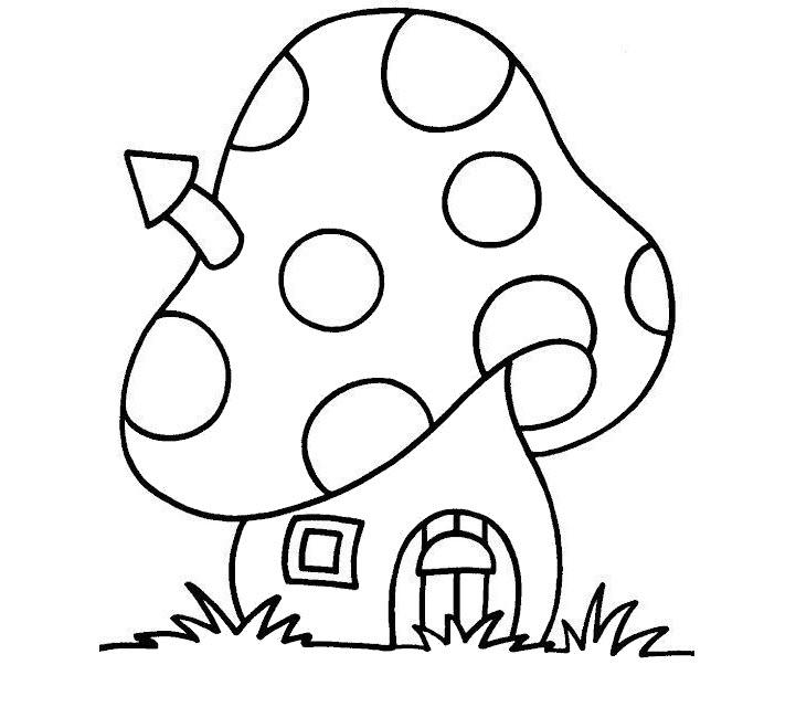 tranh tô màu ngôi nhà cho bé 21
