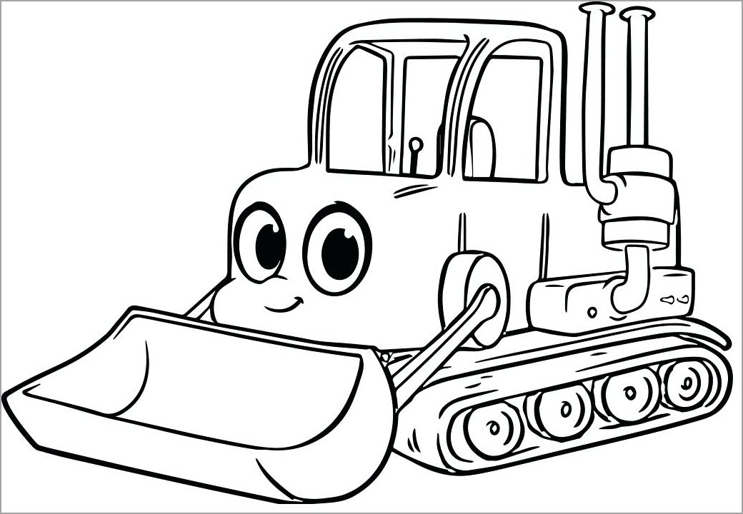tranh tô màu xe máy ủi cho bé tập tô