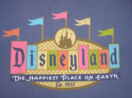 tagline của Disneyland: The happiest place on Earth