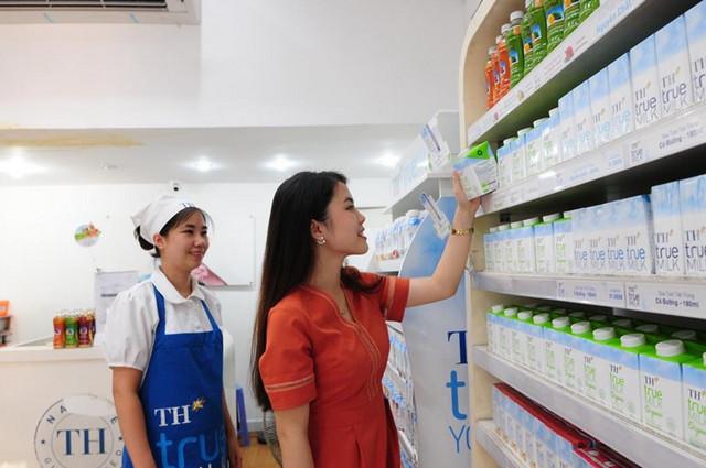 chiến lược phân phối của TH True Milk