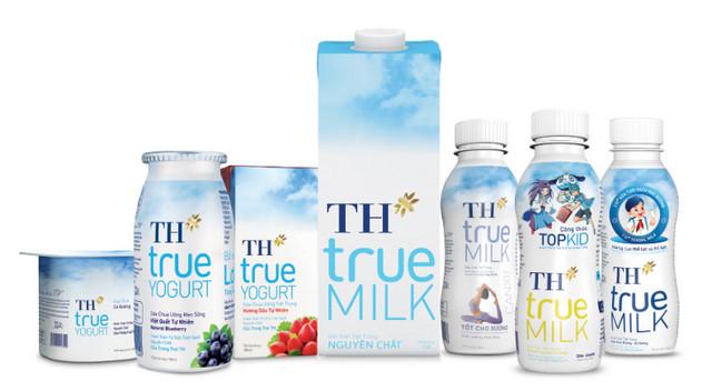 Danh mục sản phẩm của TH True Milk