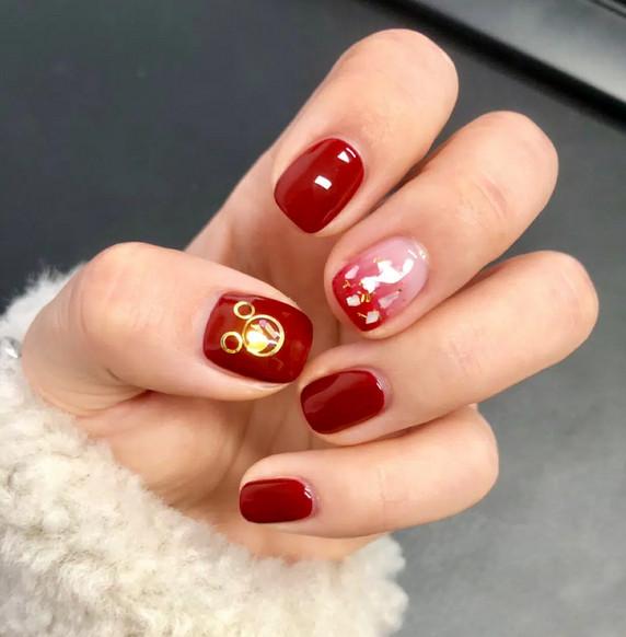 mẫu nail đẹp cho dịp tết 02