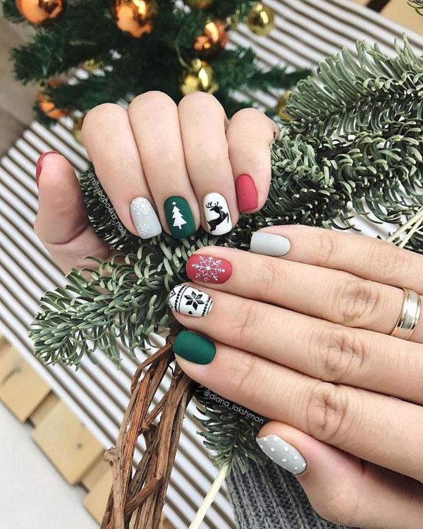 nail đẹp cho mùa giáng sinh 01