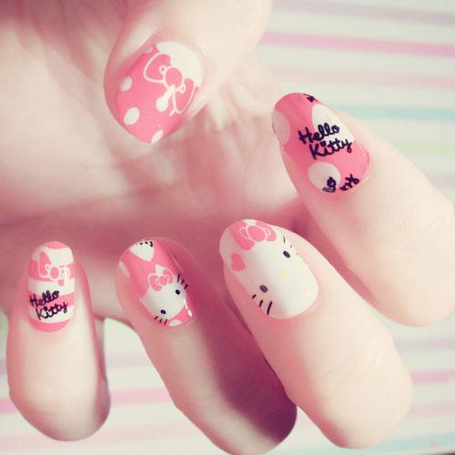 Mẫu nail động vật dễ thương nhất 02