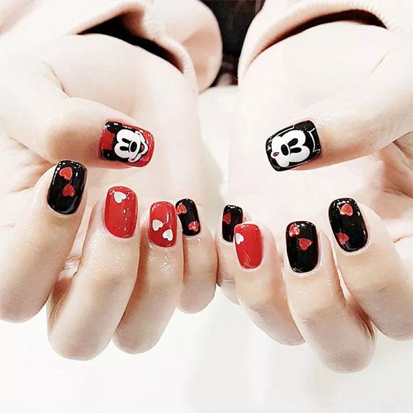Mẫu nail động vật dễ thương nhất 03