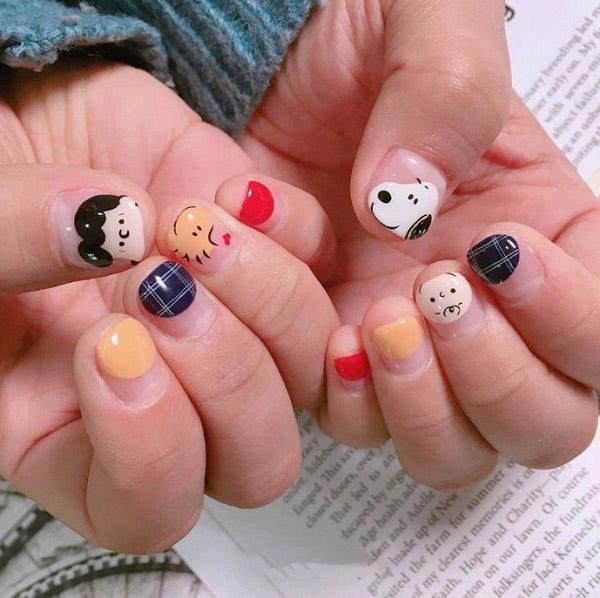 Mẫu nail động vật dễ thương nhất 05