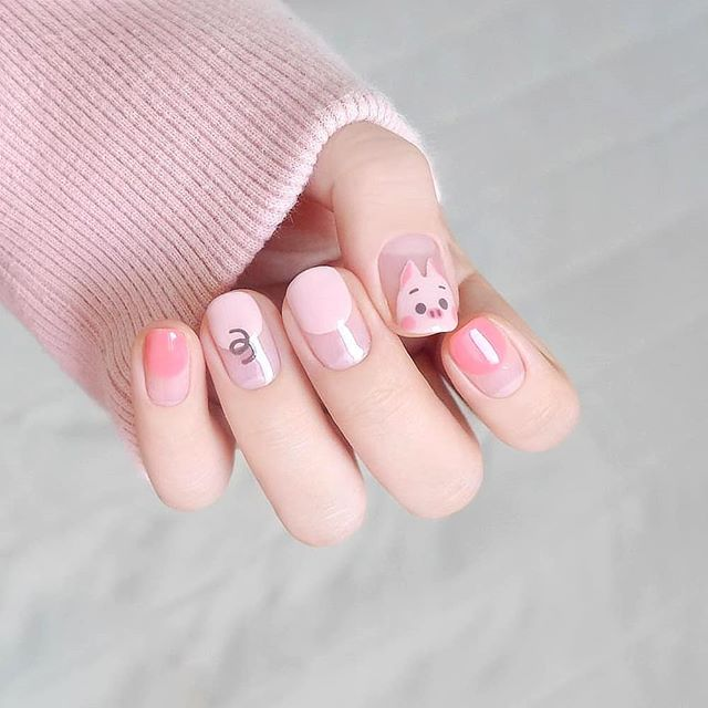 Mẫu nail động vật dễ thương nhất 07