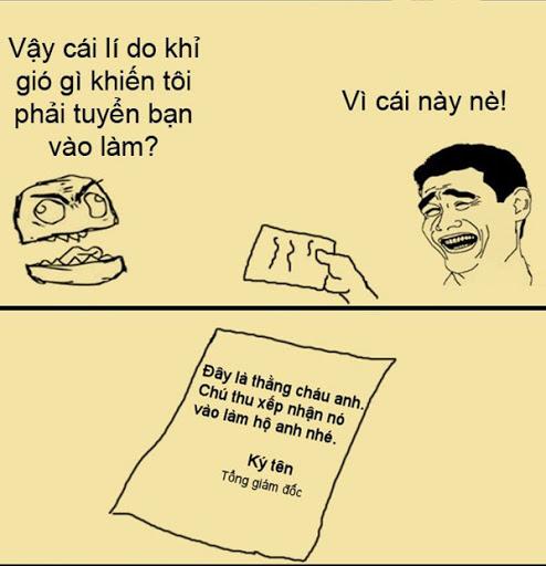 Hình ảnh tuyển dụng hài hước 012