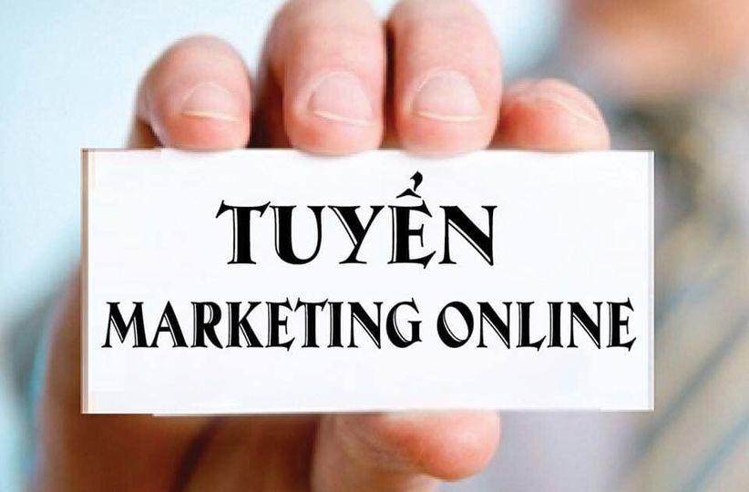 hình ảnh tuyển dụng nhân viên marketing online