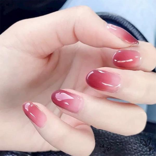 Mẫu nail cô dâu ombre 02