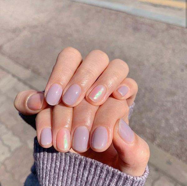 mẫu nail đẹp cho học sinh, sinh viên 001