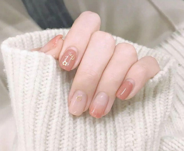 mẫu nail đẹp cho học sinh, sinh viên 010