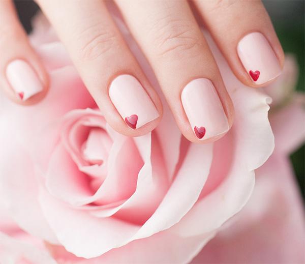 mẫu nail đẹp cho học sinh, sinh viên 011