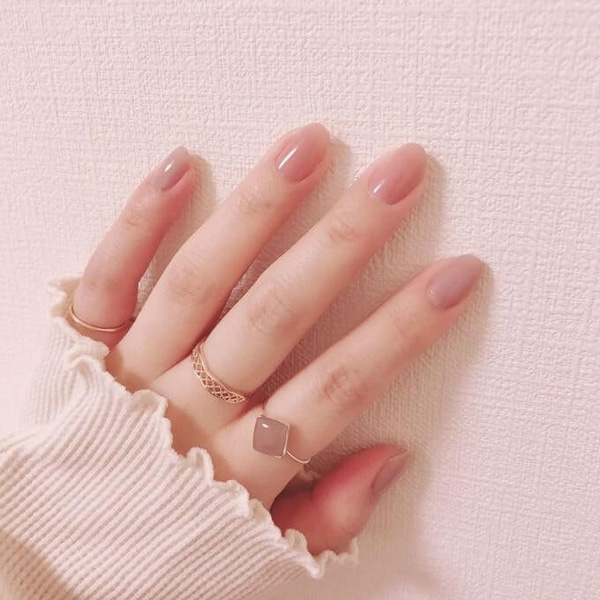 mẫu nail đẹp cho học sinh, sinh viên 016
