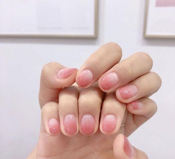 mẫu nail đẹp cho học sinh, sinh viên 002
