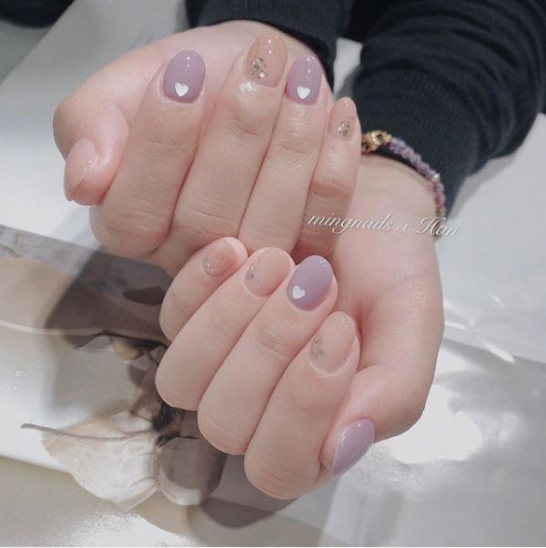 mẫu nail đẹp cho học sinh, sinh viên 022